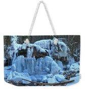 Maligne Canyon Winter Wonders Weekender Tote Bag