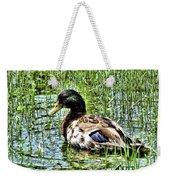 Mallard Duck 1 Weekender Tote Bag