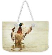 Mallard Weekender Tote Bag by Everet Regal