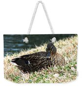 Mallard Female 1 Weekender Tote Bag