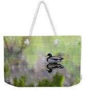 Mallard In Mountain Water Weekender Tote Bag