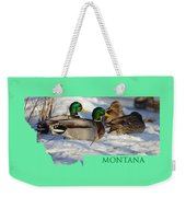 Mallard Montana Weekender Tote Bag