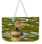 Mallard Or Wild Duck - Anas Platyrhynchos Weekender Tote Bag