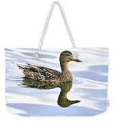 Mallard Reflections Weekender Tote Bag