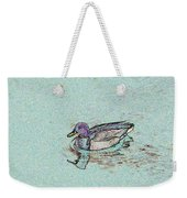 Mallards Edge Weekender Tote Bag
