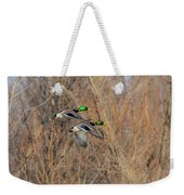 Mallard's In Flight Weekender Tote Bag