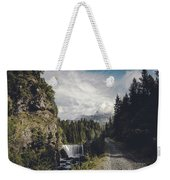 Mallero Mountain Creek - Chiesa In Valmalenco - Lombardia - Italy Weekender Tote Bag
