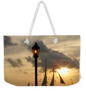 Mallory Square Key West Weekender Tote Bag