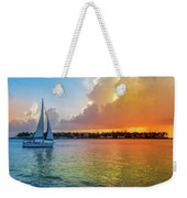 Mallory Square Sunset Celebration Weekender Tote Bag