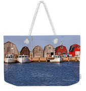 Malpeque Harbour Panorama Weekender Tote Bag