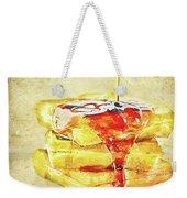 Malt Waffles Weekender Tote Bag