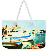Maltese Harbor Weekender Tote Bag