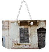 Maltese House On A Steep Street Weekender Tote Bag