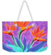 Mama And Her Chicks By Ken Tesoriere Weekender Tote Bag