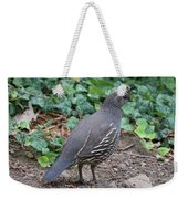 Mama Quail Profile With Ivy Weekender Tote Bag