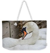 Mama Swan At Abbotsbury Weekender Tote Bag