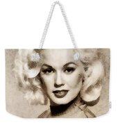 Mamie Van Doren, Vintage Actress And Pinup Weekender Tote Bag