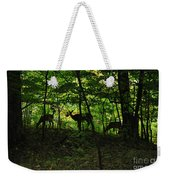 Mamma And Twins Weekender Tote Bag