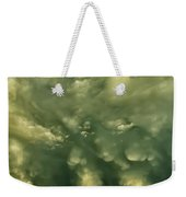 Mammatus Clouds And Double Rainbow Weekender Tote Bag