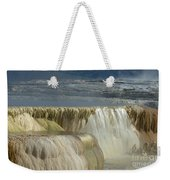 Mammoth Hot Springs - Yellowstone Weekender Tote Bag