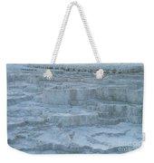 Mammoth Hot Springs Travertine Terraces One Weekender Tote Bag