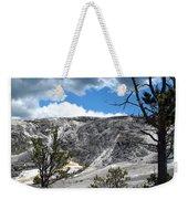 Mammoth Hot Springs Weekender Tote Bag