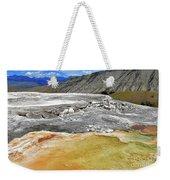 Mammoth Hot Springs1 Weekender Tote Bag