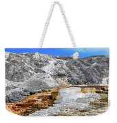 Mammoth Hot Springs3 Weekender Tote Bag