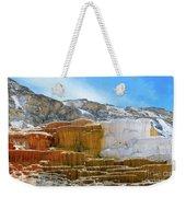 Mammoth Hot Springs4 Weekender Tote Bag