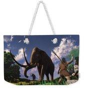 Mammoth Hunters Weekender Tote Bag