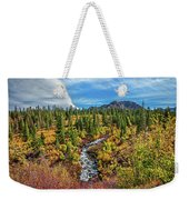 Mammoth Lakes Autumn Falls Weekender Tote Bag