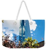 Man And Nature Weekender Tote Bag