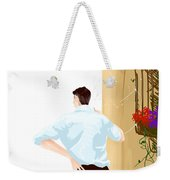 Man At The End Of The Corridor Weekender Tote Bag