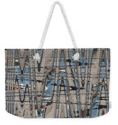 Man At The Lake Weekender Tote Bag