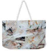 Man Chased By Mountain Lion Weekender Tote Bag