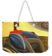 Man In Chair 2 Weekender Tote Bag