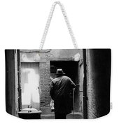 Man In Paris Alley Weekender Tote Bag