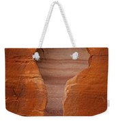 Man In Rock Weekender Tote Bag by Kelley King