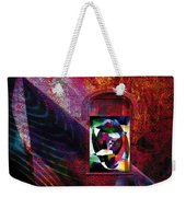 Man In The Moon Weekender Tote Bag