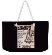 Man-mate In Brief #105 Weekender Tote Bag