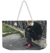 Man Of   The Pyramid Of Cestius Weekender Tote Bag