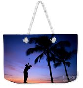 Man Swinging Driver Weekender Tote Bag