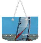 Man Wind Surfing Weekender Tote Bag