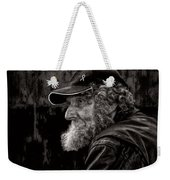 Man With A Beard Weekender Tote Bag by Bob Orsillo