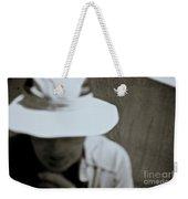 Man With A Hat Weekender Tote Bag