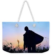 Man With Bag Weekender Tote Bag