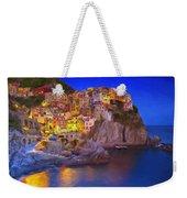 Manarola By Moonlight Weekender Tote Bag