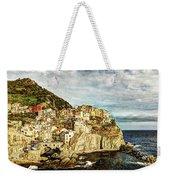 Manarola In The Sun - Vintage Version Weekender Tote Bag