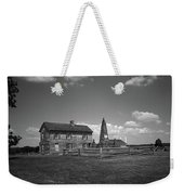 Manassas Battlefield Farmhouse 2 Bw Weekender Tote Bag