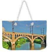 Manayunk Bridge Weekender Tote Bag